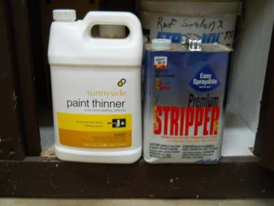 Examples of Paint Thinner and Stripper
