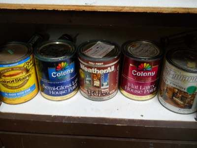 Examples of Latex Paint